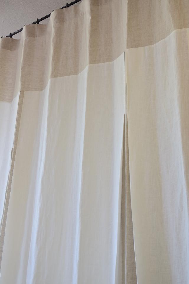 手触りのいいカーテン